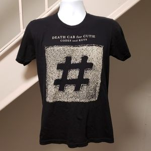 Death Cab For Cutie 'Codes And Keys' Tour T-Shirt